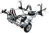 malone trailers roof rack on wheels spare tire included microsport trailer for 2 fat bikes and kayaks - 800 lbs