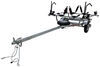 malone trailers roof rack on wheels 6-1/2w x 13l foot microsport trailer for 2 fat bikes and kayaks - 800 lbs
