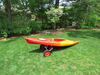 0  watersport carriers malone fishing kayak canoe cart widetrakat large kayak/canoe with no-flat tires and bunks