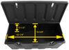 Plastic Storage Trunk for Malone MegaSport Kayak Trailer - 8 cu ft Storage MPG536