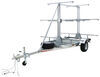 malone trailers roof rack on wheels 7w x 14l foot 3 tier outfitter megasport trailer for a fleet of boats - 1 000 lbs