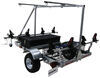 malone trailers roof rack on wheels saddle style