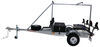 malone trailers roof rack on wheels saddle style 2 tier megasport trailer with saddles for kayaks - storage containers 1 000 lbs