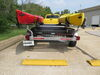 0  trailers malone saddle style 2-tier spare tire included storage box on a vehicle