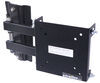 morryde rv tv mount wall 45 degrees portable w/ 2 docking stations - full motion