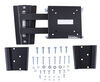 morryde rv tv mount wall manual portable w/ 2 docking stations - full motion