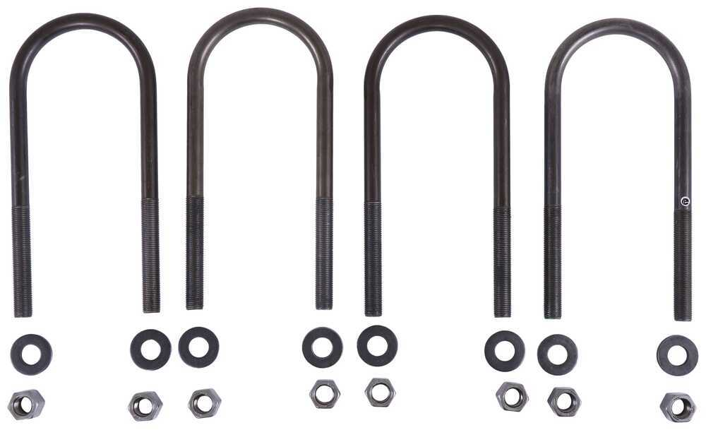 MR66ZR - U-Bolts MORryde Axle Mounting Hardware