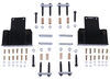 morryde trailer leaf spring suspension mounting hardware upgrade kit for tandem axle trailers w re - 33 inch wheelbase