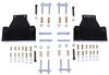 morryde trailer leaf spring suspension mounting hardware upgrade kit for tandem axle trailers w re - 35 inch wheelbase