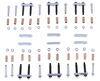 morryde trailer leaf spring suspension mounting hardware 2-1/4 inch long