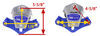 morryde trailer leaf spring suspension equalizers dimensions