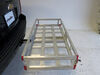 0  hitch cargo carrier maxxtow flat class iii iv 20x47 for 2 inch hitches - aluminum 500 lbs