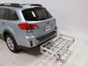 2014 subaru outback wagon hitch cargo carrier maxxtow flat fits 2 inch 20x47 for hitches - aluminum 500 lbs