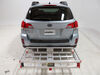 2014 subaru outback wagon hitch cargo carrier maxxtow fixed fits 2 inch on a vehicle