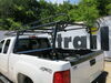 MaxxTow MaxxHaul Over-The-Cab Truck Bed Ladder Rack - Steel - 800 lbs Steel MT70232 on 2010 GMC Sierra
