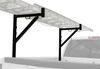 maxxtow ladder racks truck bed fixed height maxxhaul side-mount rack - 250 lbs