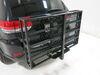 "MaxxTow 30x50 Wheelchair Carrier w/ 60"" Long Ramp - 2"" Hitches - Folding - Steel - 500 lbs Folding Carrier MT70260 on 2014 Jeep Grand Cherok"