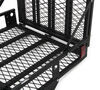 "MaxxTow 30x50 Wheelchair Carrier w/ 60"" Long Ramp - 2"" Hitches - Folding - Steel - 500 lbs Heavy Duty MT70260"