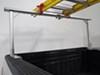 MaxxTow Truck Bed Ladder Rack w/ Load Stops - Aluminum - 400 lbs No-Drill Application MT70423