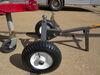 0  trailer dolly maxxtow manual 17 inch tall maxxhaul dual pull - 1-7/8 hitch ball steel 600 lbs