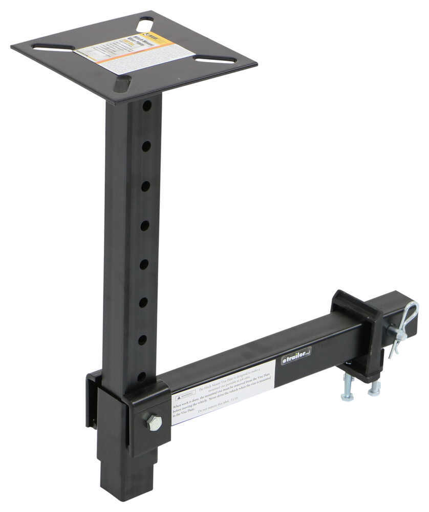 "MaxxTow MaxxHaul Portable Vise Plate - 2"" Hitches - 22-5/8"" Tall Hitch Mount Vise Plate MT80356"