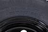 """Provider ST205/75R15 Radial Trailer Tire w/ 15"""" Vesper Black Mod Wheel - 5 on 4-1/2 - LR D Radial Tire MX47FR"""