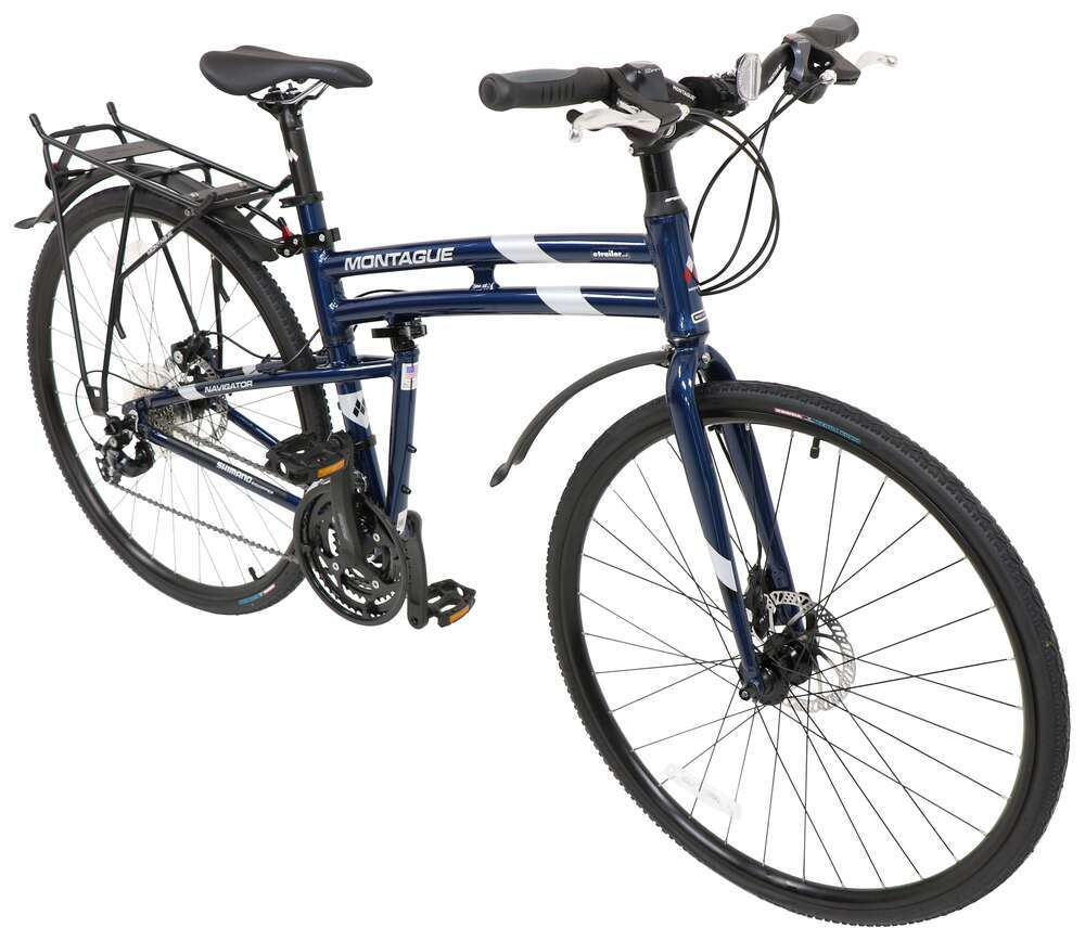 Folding Bikes NAVDC19 - Blue - Montague
