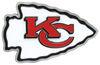 Kansas City Chiefs Logo NFL Trailer Hitch Cover Emblem NHC115L