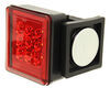 Pilot Magnetic Tow Lights - Red LEDs - 4-Way Flat and 7-Way RV Connector - Wireless Removable Tail Light Kit NV-5164