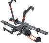 kuat hitch bike racks platform rack fold-up tilt-away nv 2.0 for 2 bikes - 1-1/4 inch hitches wheel mount gunmetal gray