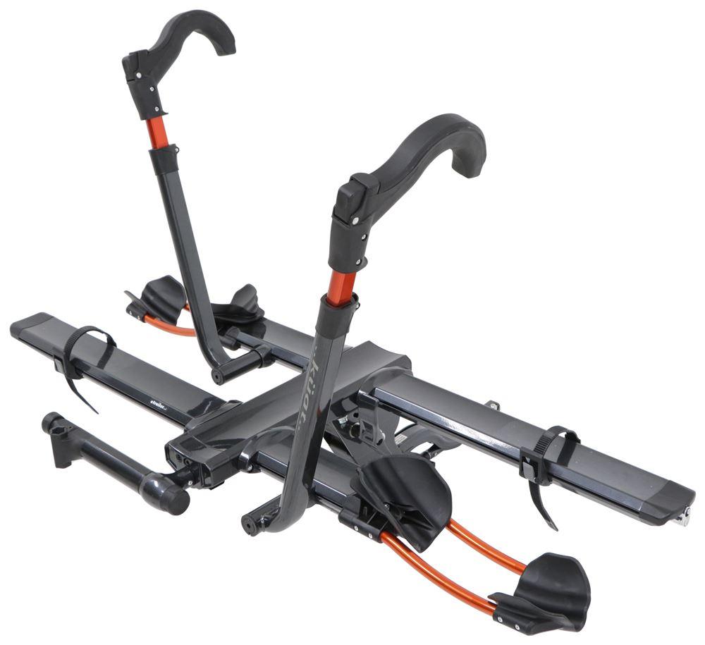 "Kuat NV 2.0 2-Bike Platform Rack - 1-1/4"" Hitches - Tilting - Gunmetal Gray Bike and Hitch Lock NV12G"