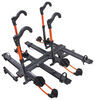 "Kuat NV 2.0 4-Bike Platform Rack - 2"" Hitches - Tilting - Gunmetal Gray 4 Bikes NV22G-NA22G"