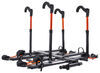 "Kuat NV 2.0 4-Bike Platform Rack - 2"" Hitches - Tilting - Gunmetal Gray Bike and Hitch Lock NV22G-NA22G"