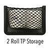 """RV Storage Net - 11"""" Wide x 8"""" Tall - Black - Qty 1 Black OBE59FR"""