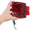 optronics trailer lights stop/turn/tail rear clearance side reflector submersible opt39fr