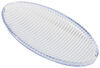 Replacement Clear Oval Acrylic Lens for Optronics RV Porch and Utility Light White OPT47FR