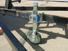 "Extreme Off-Road Ratcheting Trailer Jack w/ Wheel - Sidewind - 10"" Lift - 770 lbs - Zinc 770 lbs ORJW1SU"