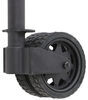 ark trailer jack side frame mount sidewind extreme off-road swing-up w/ dual wheels - 10 inch lift 1 650 lbs black