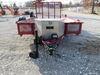 0  trailer jack ark side frame mount drop leg extreme off-road swing-up w/ dual wheels - sidewind 10 inch lift 1 650 lbs black
