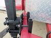 0  trailer jack ark side frame mount sidewind extreme off-road swing-up w/ dual wheels - 10 inch lift 1 650 lbs black