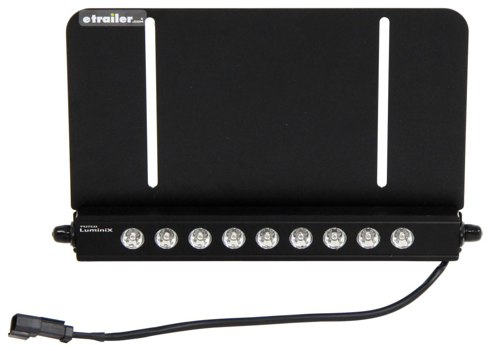 Putco High Power Luminix Off-Road Light Bar w License Plate Mount - LED - 27 Watts - 15 Degree Spot LED Light P2281L