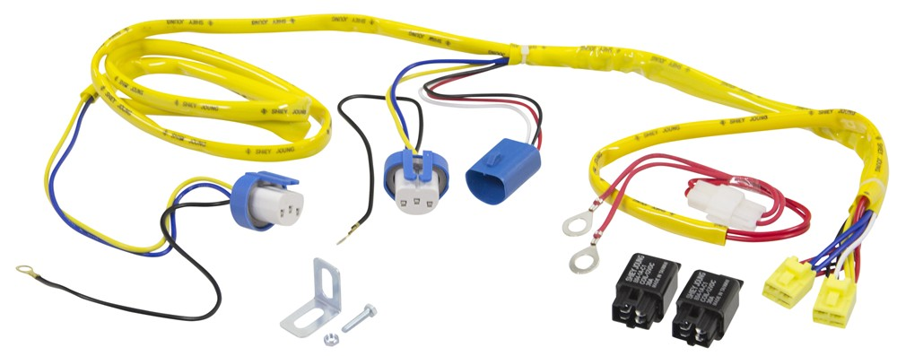Putco Heavy-Duty Harness and Relay for 9007 Halogen Bulbs Putco Accessories  and Parts P239007HW | Putco Headlight Wiring Harness Jeep |  | etrailer.com