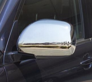 Putco Chrome Mirror Overlays for Toyota Land Cruiser Full Coverage P402029