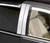 putco vehicle trim  no accents classic chrome decorative pillar posts for cadillac escalade
