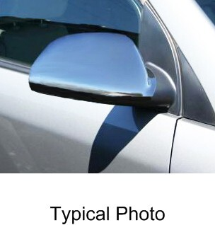 Putco Chrome Mirror Overlays for Hyundai Elantra ABS Plastic P408401