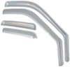 putco rain guards in window channel 4 piece set p480209