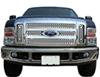 putco truck grilles snap-on punch stainless steel grille insert for ford super duty