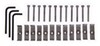putco truck grilles grille insert snap-on punch stainless steel for ford super duty