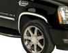 putco vehicle trim full coverage stainless steel fender for cadillac escalade esv -
