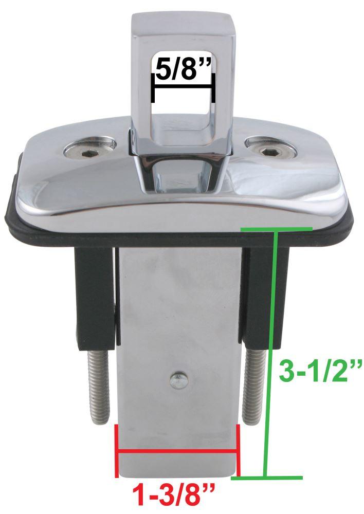Putco 8490 Rubber Gromlet for Stake Pocket Rail